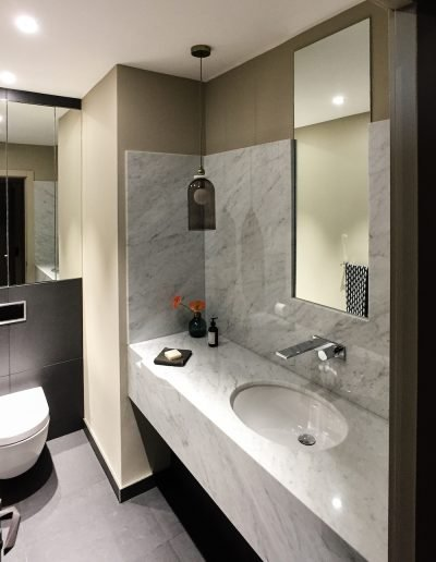 Dollar Bay bathroom and washroom fit out